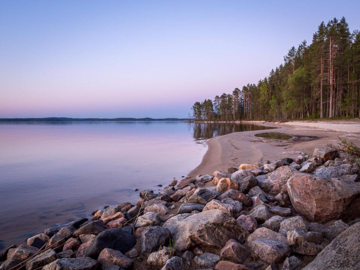 Herajärven kierroksen vaeltaminen Kolilla.