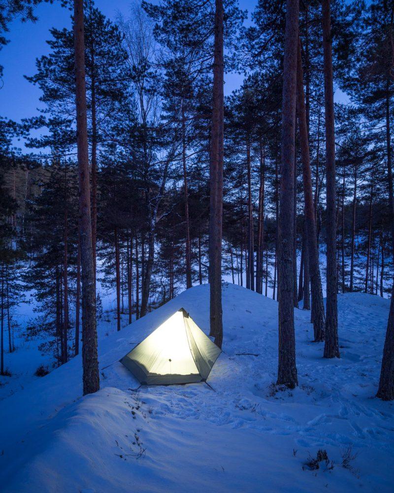 Vaelluskurssi, kolmen vuodenajan varusteet riittävät talveen asti.